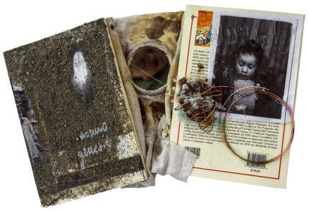 Gloria Veronica Lavagnini - Libro D\'artista Memorie Di Famiglia - 2015  Visone Tot. Frontale Alt - Copia