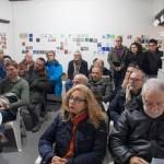 Incontri ed eventi alla MAW - nello sfondo opere rimaste in esposizione