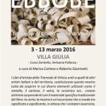 """INAUGURAZIONE: """"Error-Errare"""" 5 marzo 2016 ore 17.30 - Verbania"""